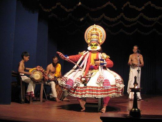 Danza Kathakali